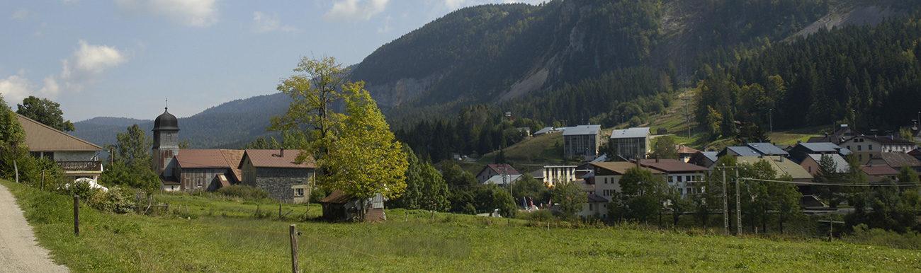 Photo du village de Mijoux